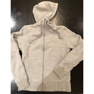 North Face Hoodie-Sz Small, Gray. Great condition!